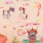 Ткань велюр с рисунком принцесса